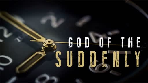 God of the Suddenly // David Spiegel