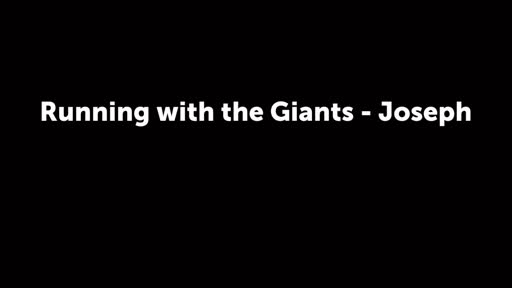 Running with the Giants - Joseph