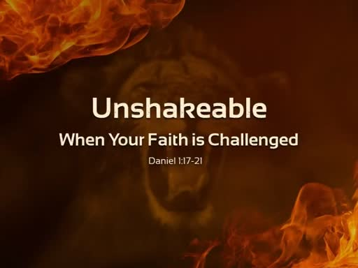 Unshakeable Part Three