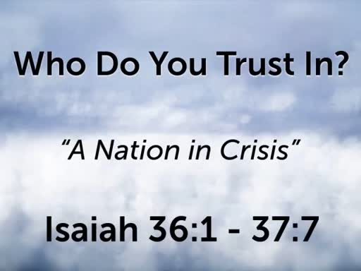 Who Do You Trust In?
