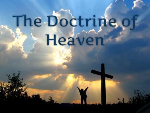 Doctrine of Heaven (P1)