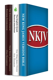 The New King James Version with Reverse Interlinear