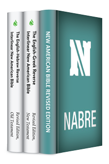 The New American Bible, Revised Edition with Reverse Interlinear