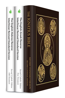 Revised Standard Version, Second Catholic Edition with Reverse Interlinear