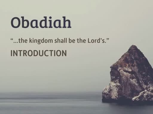 Obadiah Introduction