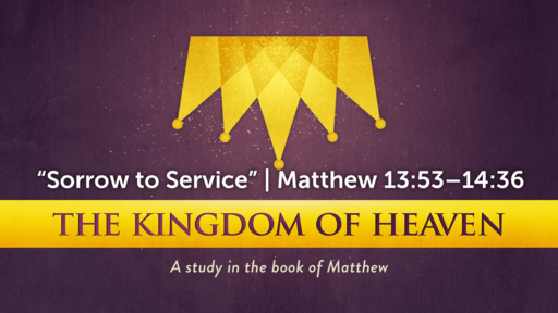 """Sorrow to Service"" 