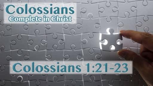 Colossians - Complete in Christ