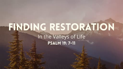 Finding Restoration
