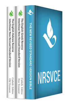 New Revised Standard Version, Catholic Edition with Reverse Interlinear