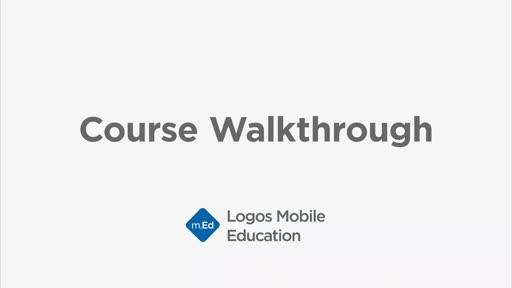 Course Walkthrough