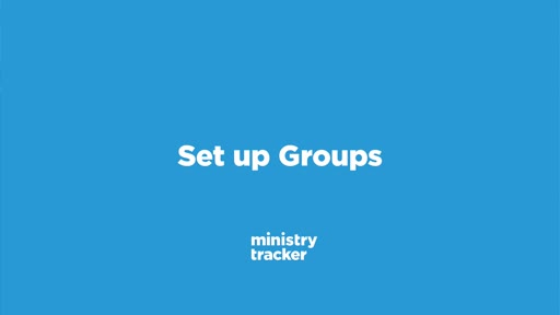 Set Up Groups