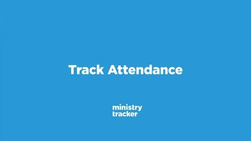 Track Attendance