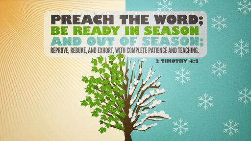 2 Timothy 4:2 verse of the day image