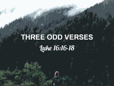 Three Odd Verses