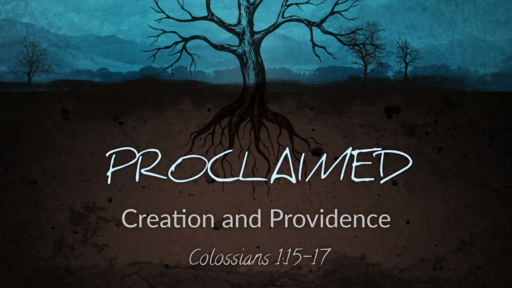 Creation and Providence