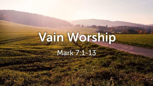 Vain Worship