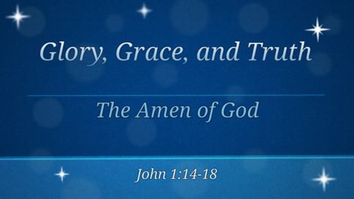 04 29 2018 The Amen of God