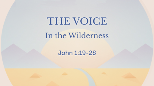 05/20/2018 A Voice In The Wilderness