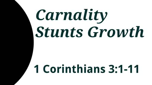 1 Cor. 3:1ff
