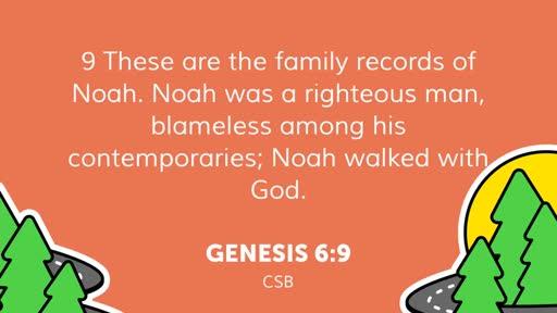 May 24 PM: Noah