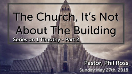 The Church Is About Changed Lives
