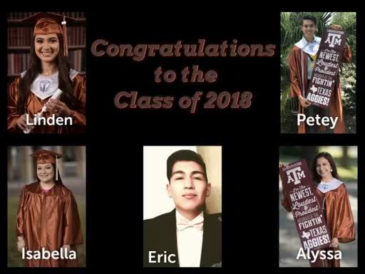 Choices; Grads 2018