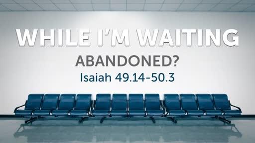 While I'm Waiting