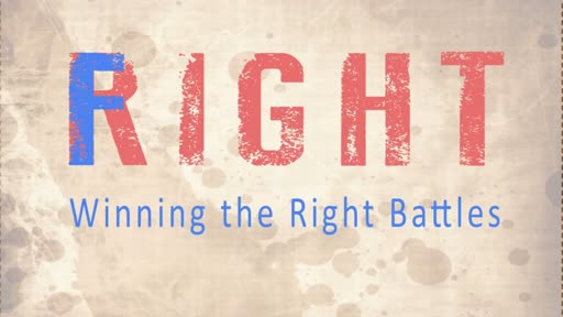 Fight Right, Part 2: The Fight Within Me // Pastor Nate Cress