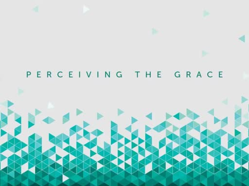 PERCEIVING THE GRACE