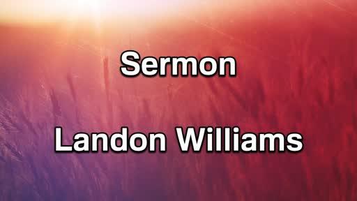 AM Sermon