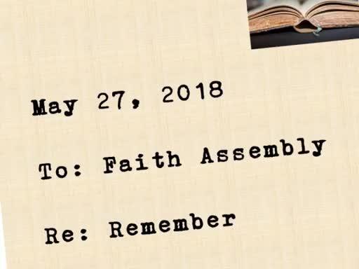 Sunday May 27