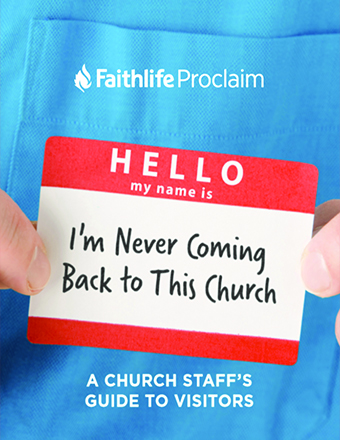 Hi, I'm New Here: A Church Staff's Guide to Visitors
