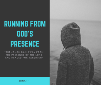 Running from God's presence (9.30am 3/6/2018)