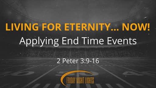 Living For Eternity... NOW!