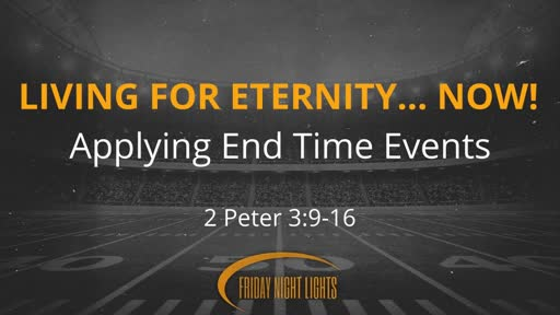 Living For Eternity... NOW!