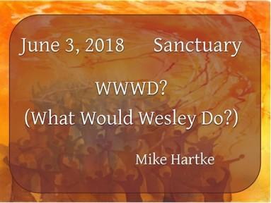 June 3, 2018 - Sanctuary