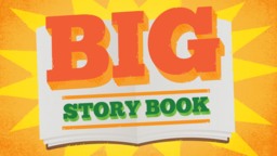 Big Story Book 16x9 PowerPoint Photoshop image