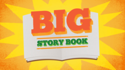 Big Story Book subheader 16x9 PowerPoint Photoshop image
