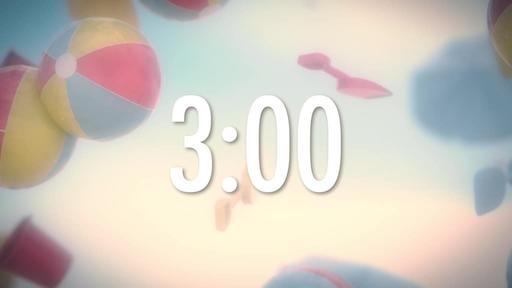 Beach Ball - Countdown 3 min