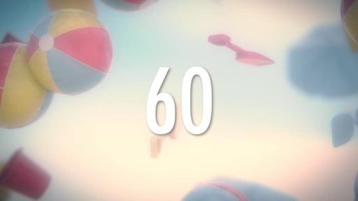 Beach Ball - Countdown 1 min