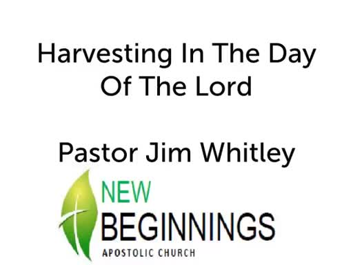 Stealing A Harvest In The Day Of The Lord Wed 06-06