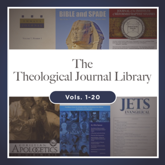 Galaxie's Theological Journal Library, vols. 1-20