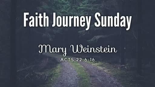 Sunday, June 10, 2018: Mary Weinstein