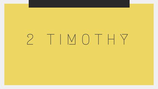 2 Timothy 1:8-18