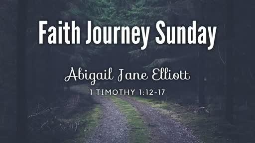 Sunday, June 10, 2018: Abigail Jane Elliott