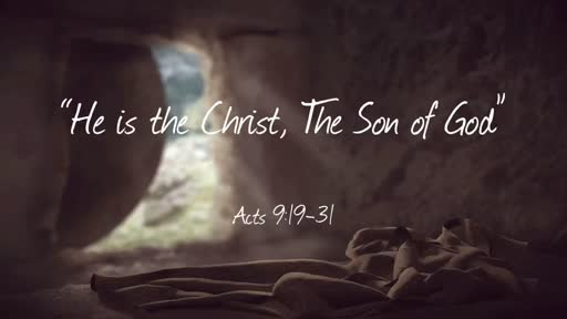 """He is the Christ, The Son of God"""