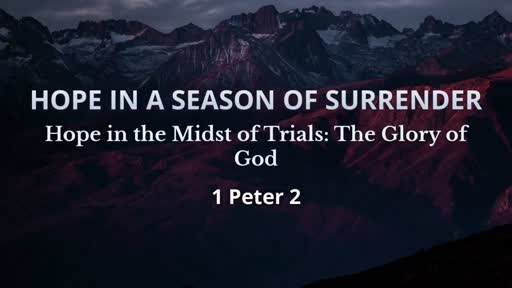 6/10/2018 Hope in the Midst of Trials: The Glory of God