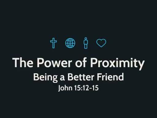 Being a Better Friend