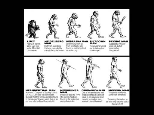Where are Cave Men in the Bible?