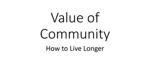 June 10, Value of Community